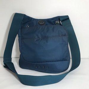 TUMI Tech Nylon Crossbody Shoulder Bag Blue
